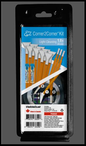 Visible Dust EZ Corner2Corner Kit 1.0x light cleaning