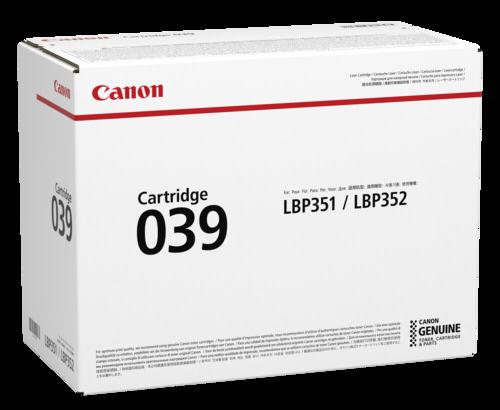 Canon Toner Cartridge 039 Black