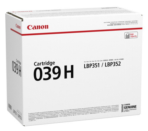 Canon Toner Cartridge 039H Black