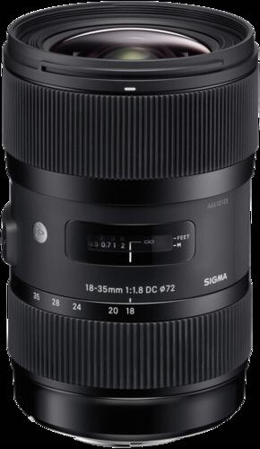 Sigma DC 18-35mm f/1.8 HSM Canon