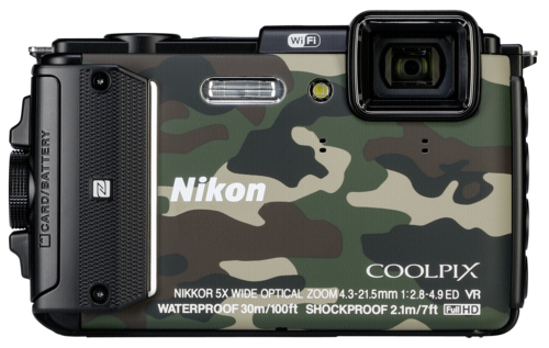 Nikon Coolpix AW 130 Camouflage