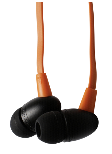 Boompods Tuffbuds Mic/Remote orange
