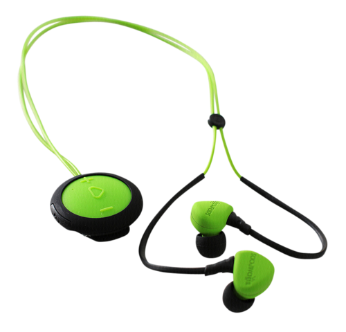 Boompods Sportpods Race green