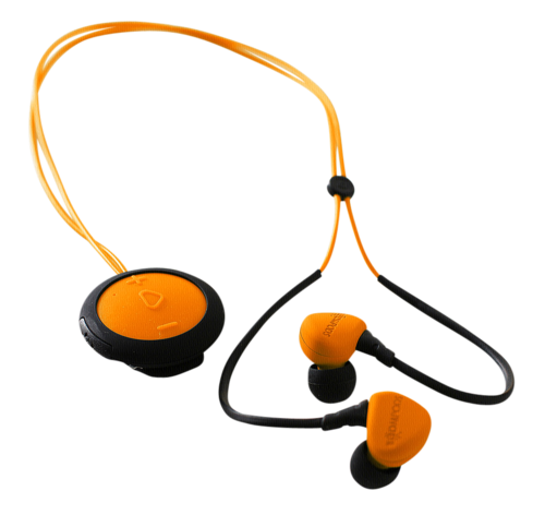Boompods Sportpods Race orange