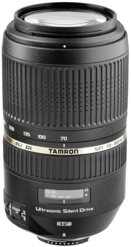 Tamron SP 70-300mm f/4.0-5.6 DI VC USD Nikon