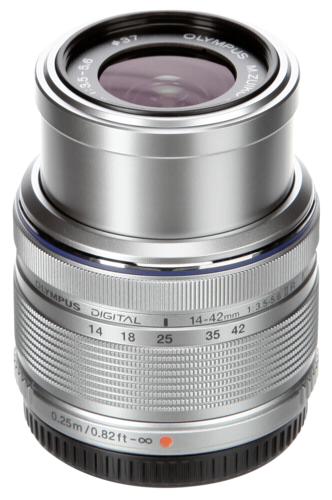 Olympus M.Zuiko 14-42mm f/3.5-5.6 II R Silver