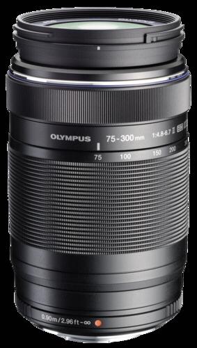 Olympus M.Zuiko ED 75-300mm f/4.8-6.7 II Black