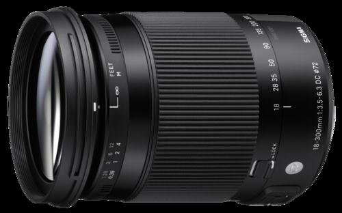 Sigma 18-300mm f/3.5-6.3 DC AF OS HSM Macro Nikon
