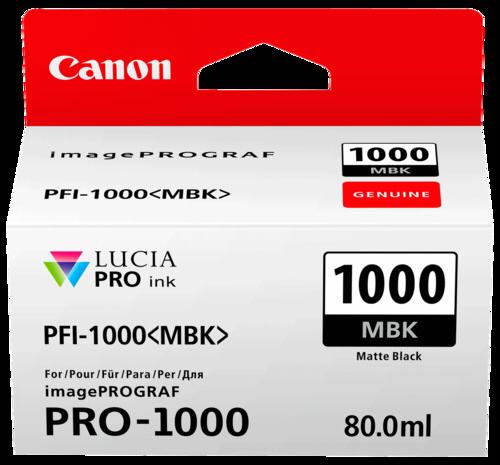 Canon PFI-1000 MBK Matte Black