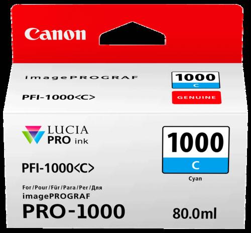 Canon PFI-1000 C Cyan