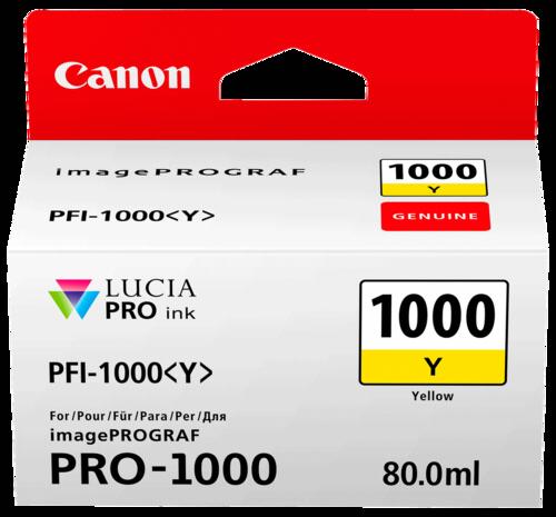 Canon PFI-1000 Y Yellow