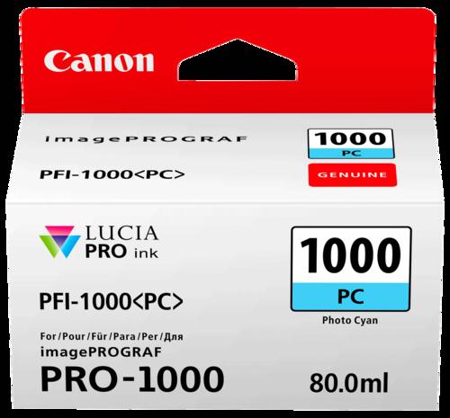 Canon PFI-1000 PC Photo Cyan