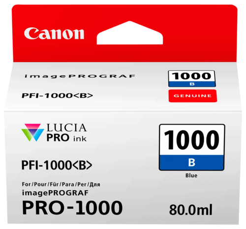 Canon PFI-1000 B Blue