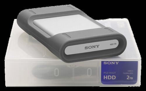 Sony PSZ-HA2T Firewire 800 2TB USB 3.0 HDD