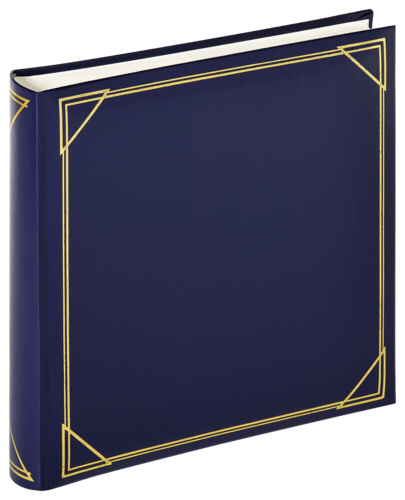 Walther Standard blue 30x30cm 100 white pages