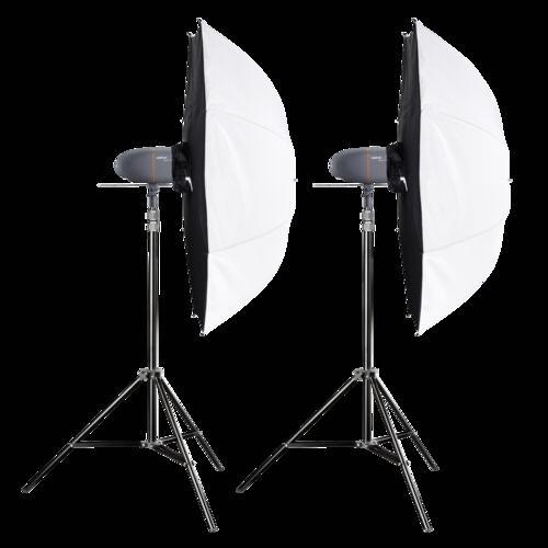 Walimex Pro Newcomer Mini 200 Studioset