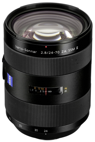 Sony 24-70mm f/2.8 ZA SSM II Carl Zeiss