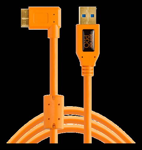 Tether Tools TPro USB 3.0 Micro-B Right Angle 4.6m