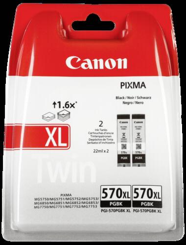 Canon PGI-570 PGBK Black XL Twin Pack