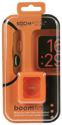 Boompods Watchband for Apple Watch Boomtime 42mm orange