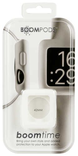 Boompods Watchband for Apple Watch Boomtime 42mm white