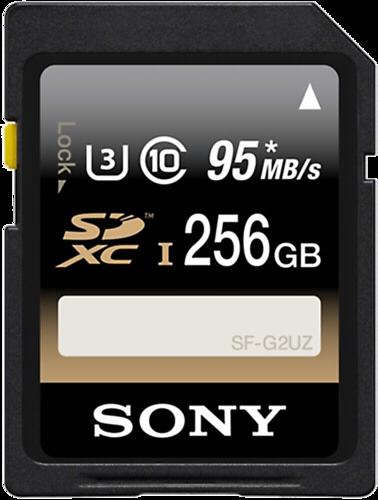 Sony SDXC Professional 256GB Class 10 UHS-I U3