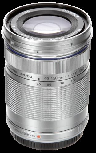 Olympus M.Zuiko ED 40-150mm f/4.0-5.6 R Silver