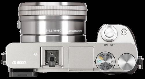 Sony Alpha 6000 Kit silber +