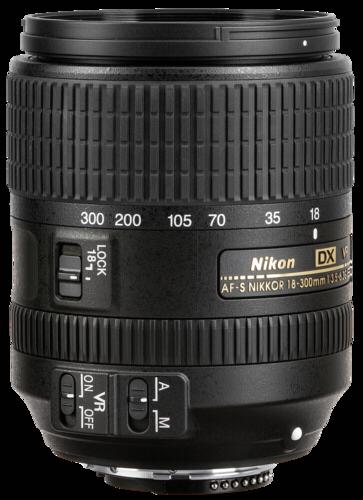 Nikon AF-S 3,5-6,3/18-300 DX ED