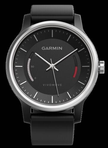 Garmin vivomove Sport black with sports strap