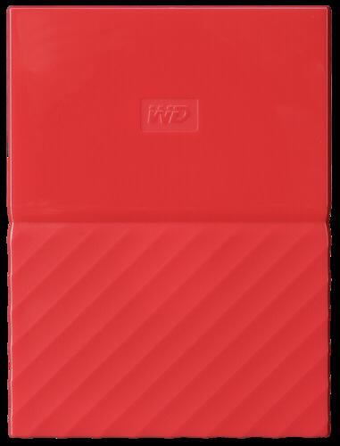 Western Digital WD My Passport 1TB HDD red