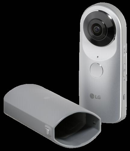 LG 360 CAM Silver
