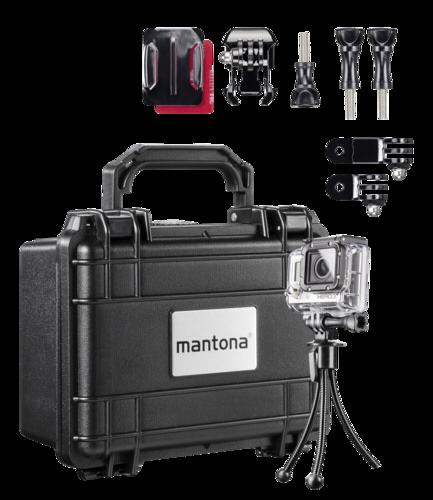 Mantona Suitcase S Storage Set I GoPro