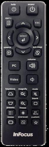 InFocus Navigator 4 Remote Control