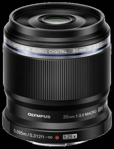 Olympus M.Zuiko ED 30mm f/3.5 Black