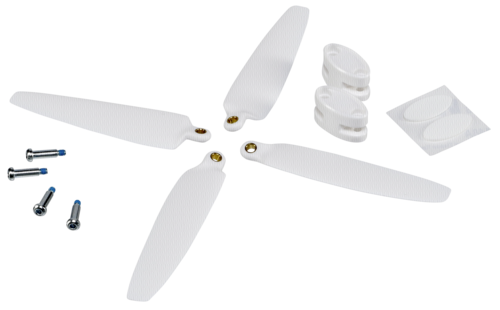 Yuneec Breeze replacement propeller white 2 pieces