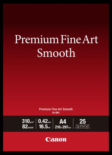 Canon FA-SM1 Premium Fine Art Smooth A4 310gr (25 sheets)