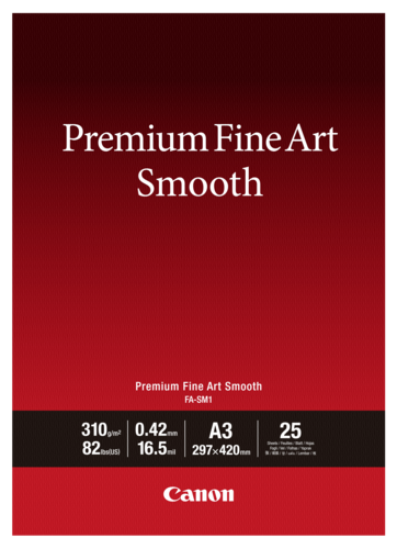 Canon FA-SM1 Premium Fine Art Smooth A3 310gr (25 sheets)
