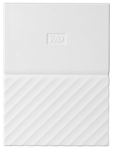 Western Digital WD My Passport 2TB HDD usb 3.0 white