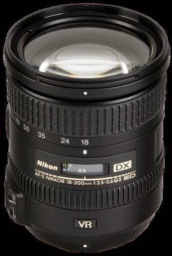 Nikon AF-S 18-200mm f/3.5-5.6G DX ED VR II