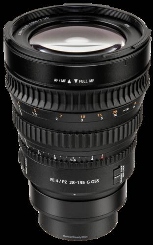 Sony E-Mount 28-135mm f/4G