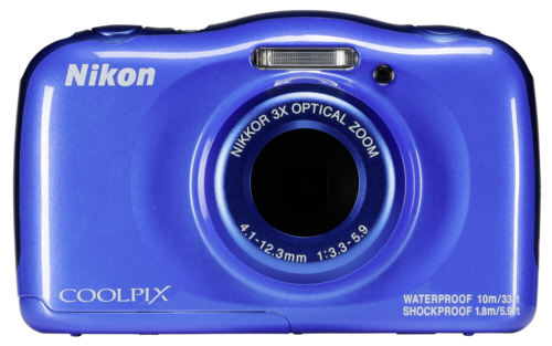 Nikon Coolpix W100 Blue Backpack Kit