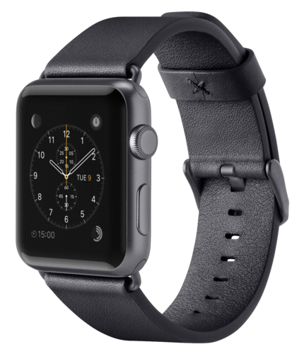 Belkin Classic Leather Band 38mm Apple Watch black