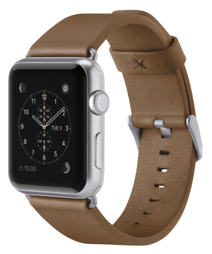 Belkin Classic Leather Band tan Apple Watch 38mm