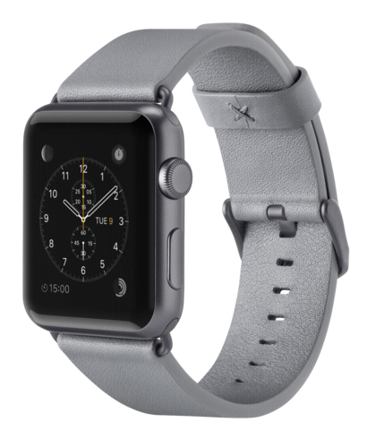 Belkin Classic Leather Band gray Apple Watch 38mm