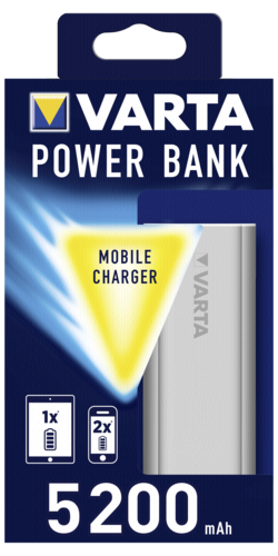 Varta Promotional Power Bank 5200mAh silver