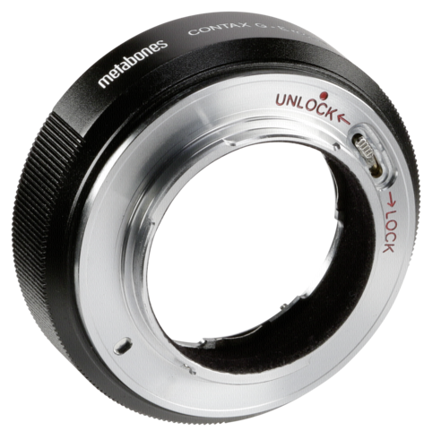 Metabones Adapter Contax G to Sony E-Mount T black