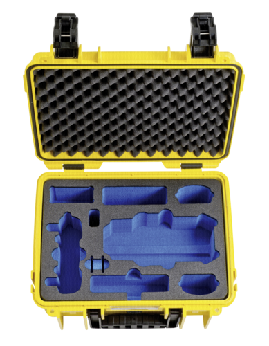 B&W Copter Case Type 3000 Inlay for DJI Mavic Pro yellow