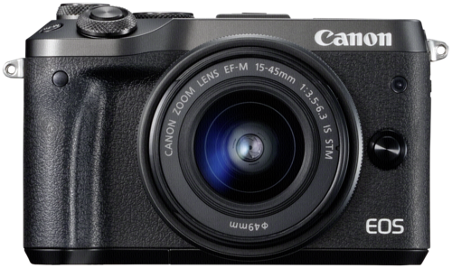 Canon EOS M6 black kit 15-45mm IS STM