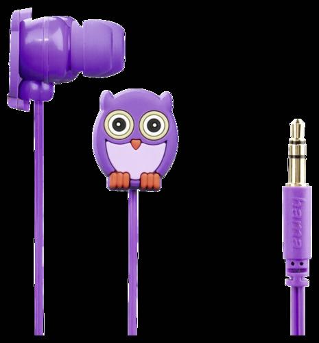 Hama Owl Kids Stereo Earphones